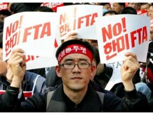 korean_unionist_no_fta_