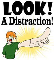 look-a-distraction