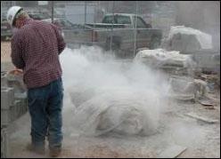 silica-dust