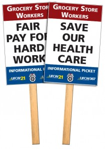 UFCW-IBT-grocery-picket-signs