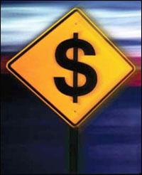 road-dollar-sign