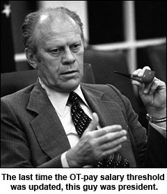 president-ford-overtime-pay