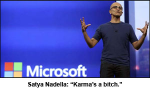 Nadella-MS-karma