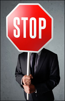 corporate-stop-sign
