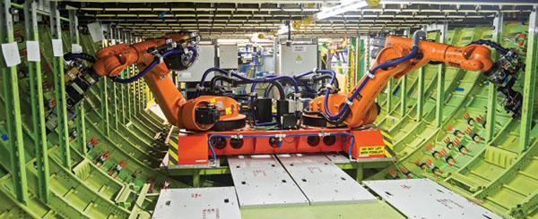 Boeing-robots
