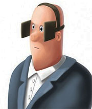 man-with-blinders