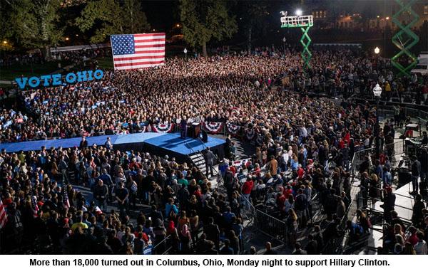 clinton-ohio-turnout