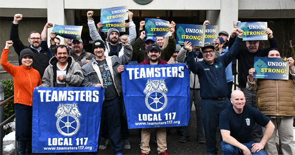 Teamsters vote to OK strike at Industrial Container Services